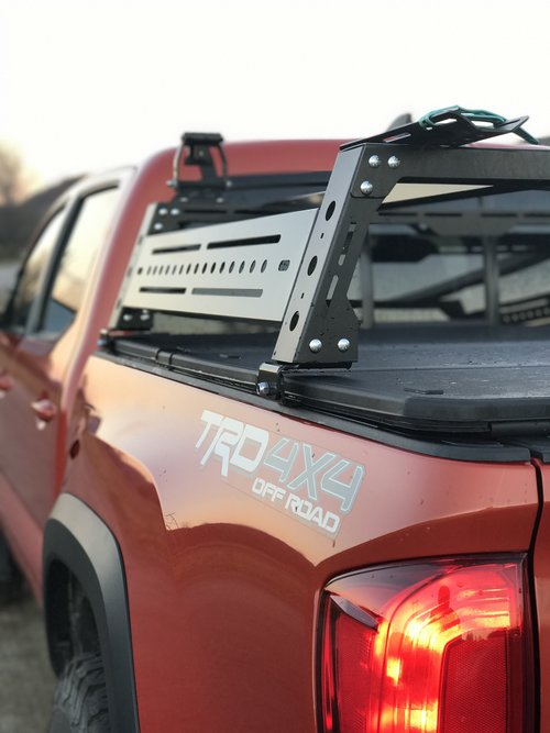 Bed Rack Tonneau Cover Brackets Kb Voodoo Fabrications