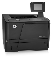 HP Mono LaserJet M401n Printer