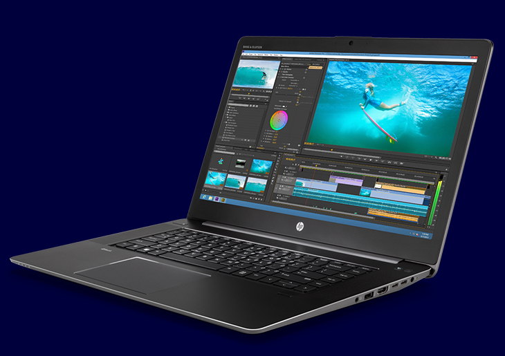 With its diamond-cut edges, a full-machined aluminum and die-cast magnesium body, the HP ZBook Studio is bringing new dimension to the workstation. Its sleek profile is perfect for any mobile professional.