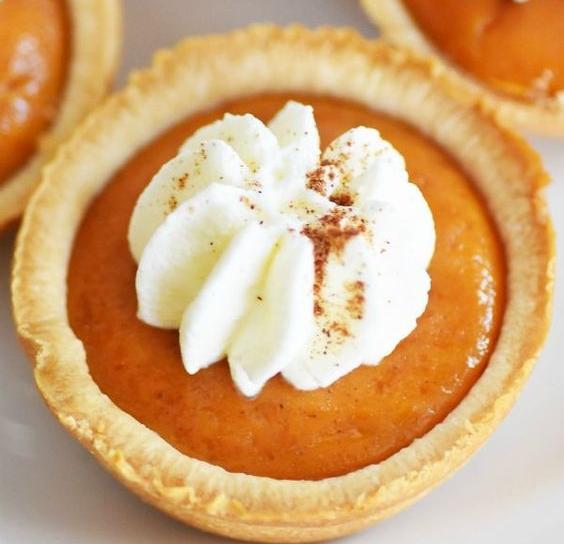 Mini Pumpkin Pie Muffins