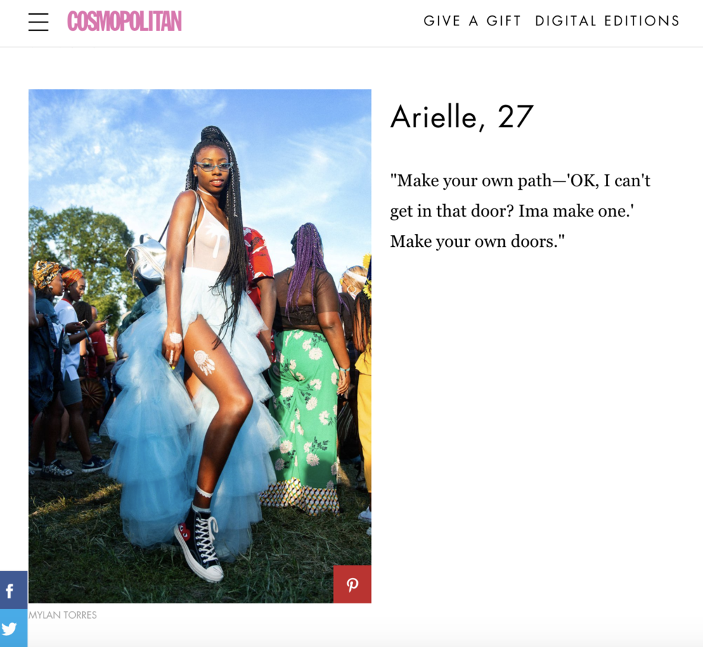 Arielle for Cosmopolitan