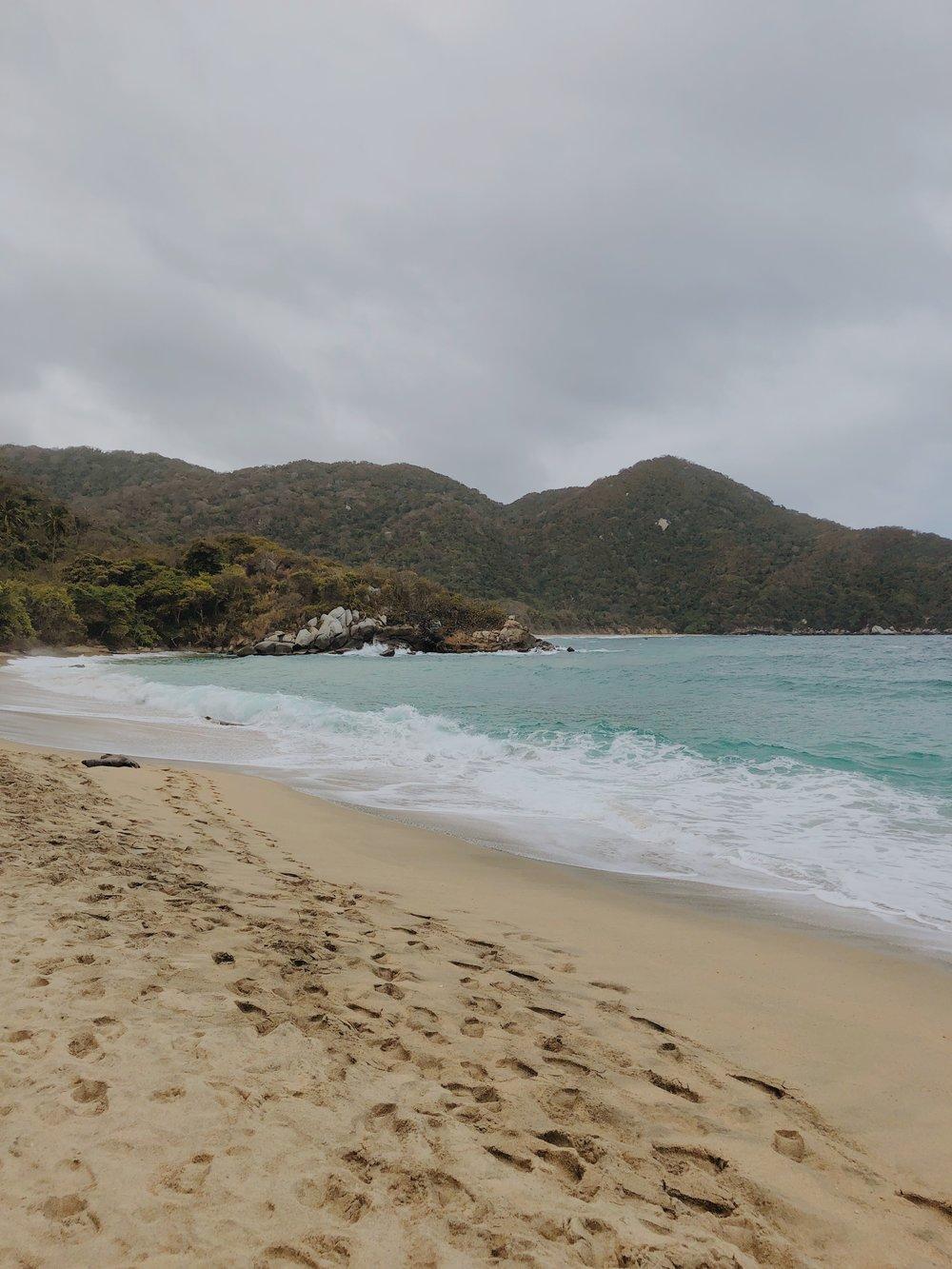 Nude Beach in Tayrona