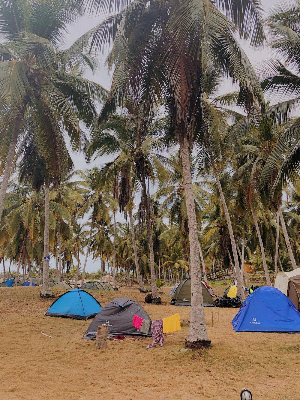 Camping Grounds in Tayrona
