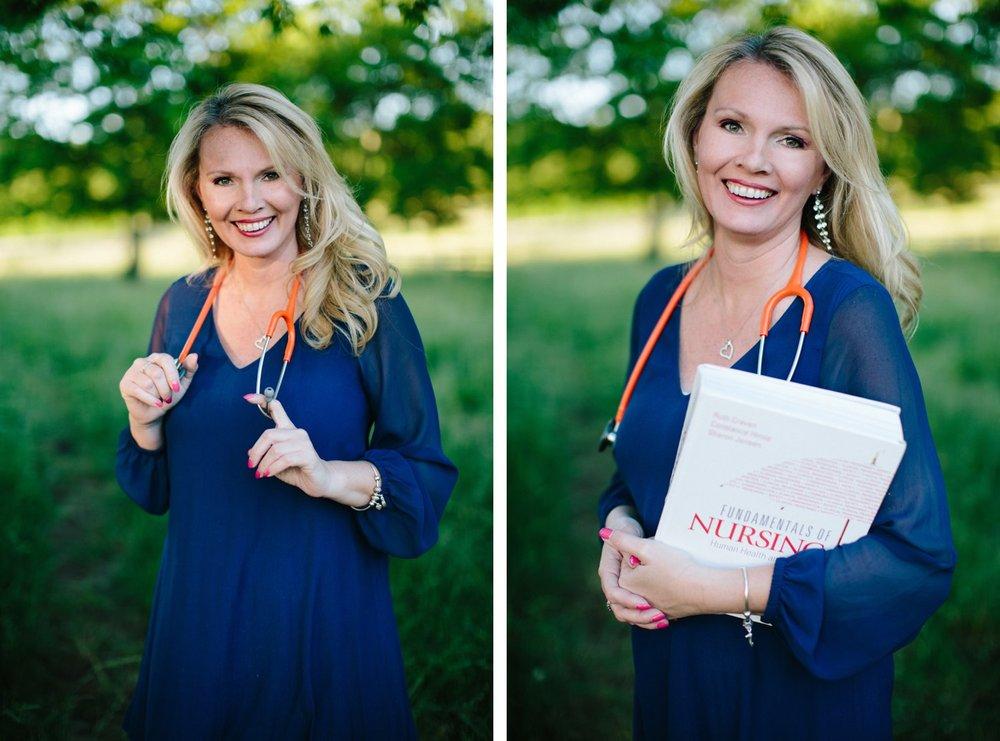 nursing school graduation photos