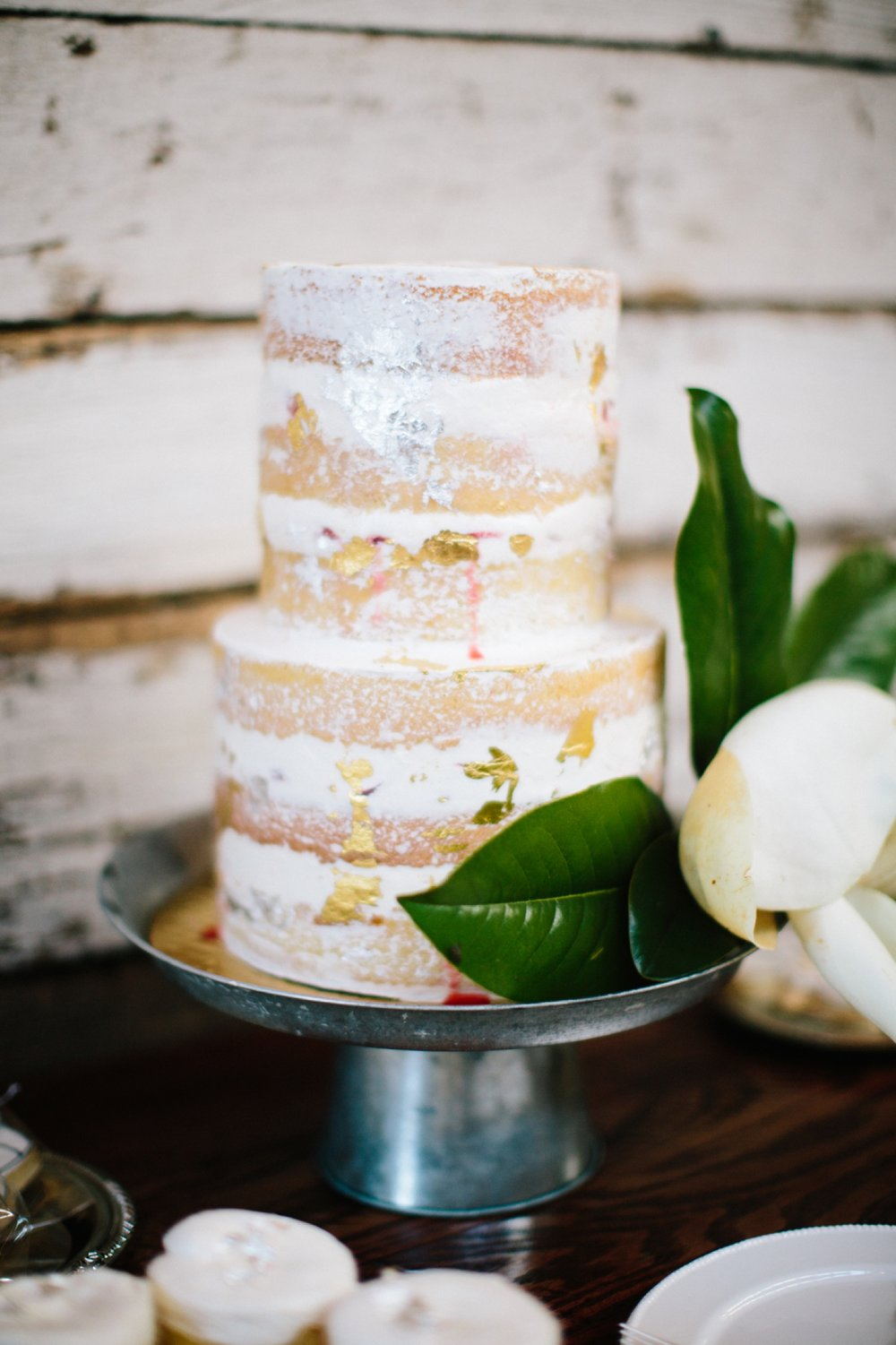 naked wedding cake tampa