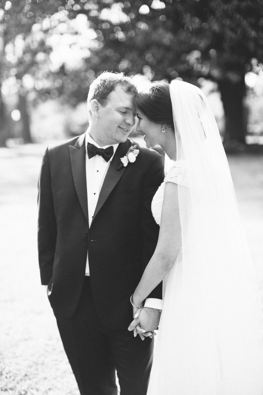 black and white wedding photographs