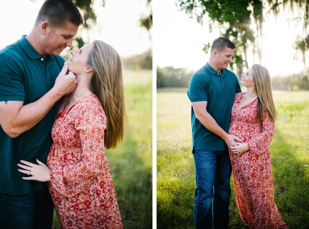 outdoor maternity session ideas tampa florida