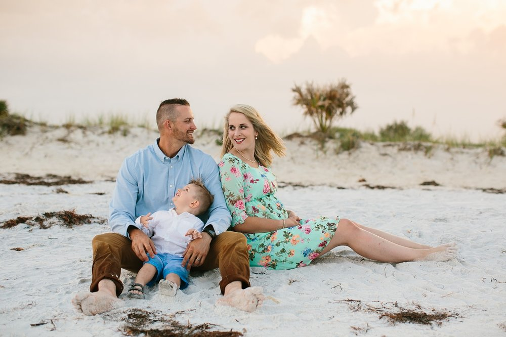 beach family photography tampa florida