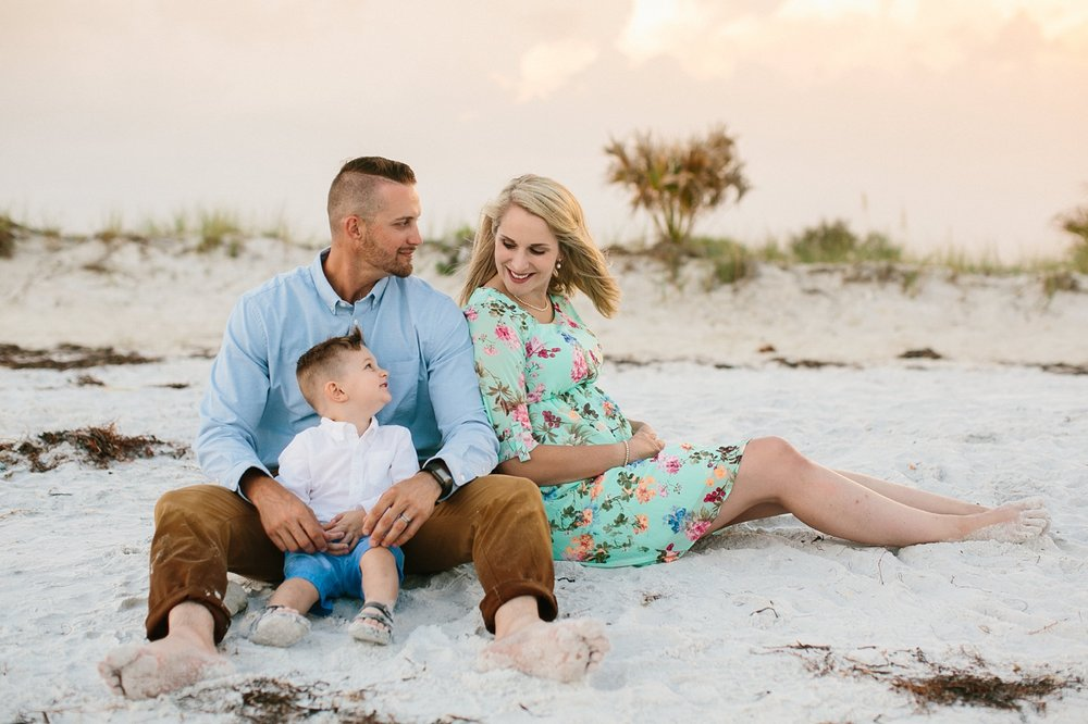 honeymoon island family photography