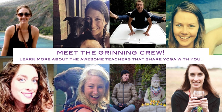 Meet the Grinning crew!