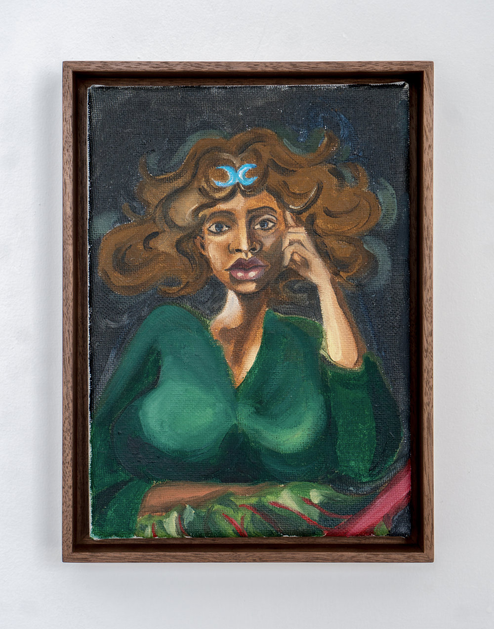 Etruscan Miniature , 2018, Oil on canvas, 9 x 6.7 inches