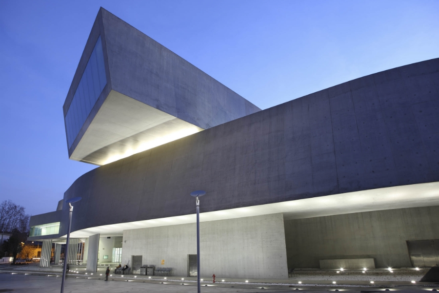 "The MAXXI, Museum of the 21st Century Arts, is designed to have no boundaries of what is ""within"" the museum and what is ""without"" the museum."