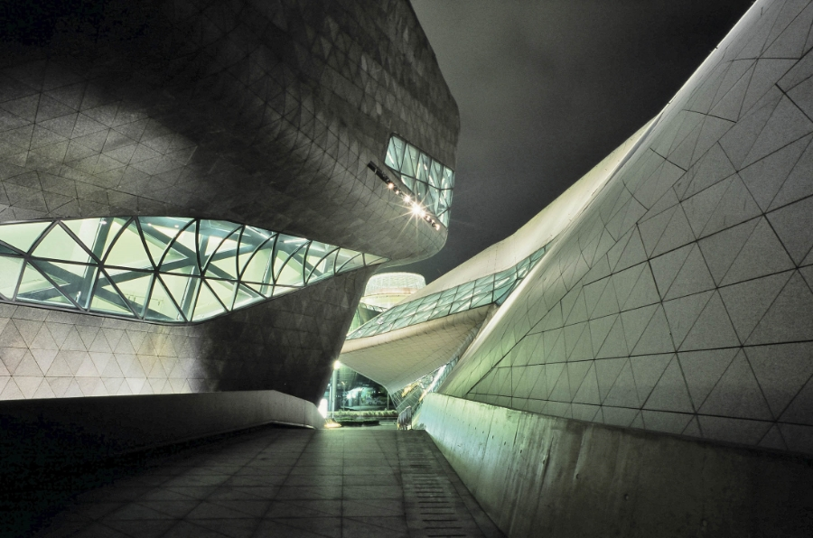 The Guangzhou Opera House is thriving with urban function and open access, making it modernity at its finest.