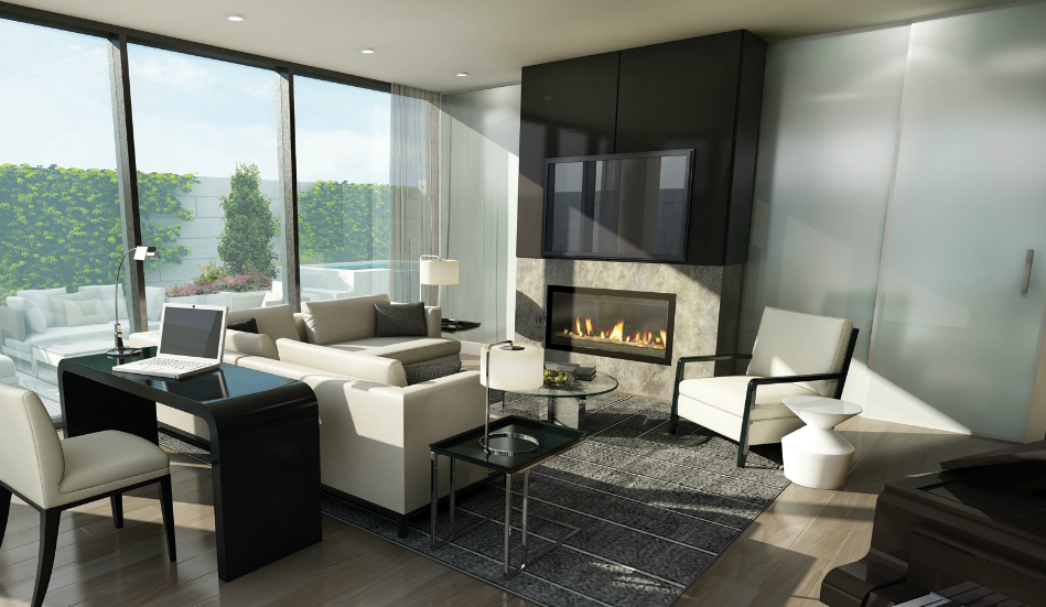 Lounge design in Zinc Development's 36Hazelton