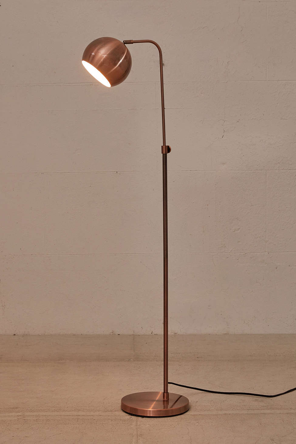Gumball Floor Lamp in Copper, $159