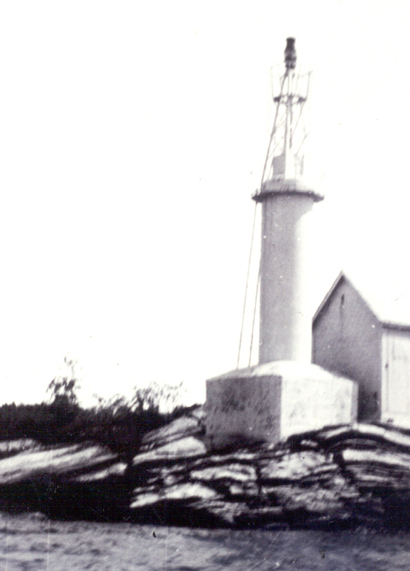 Killbear Light in 1938.