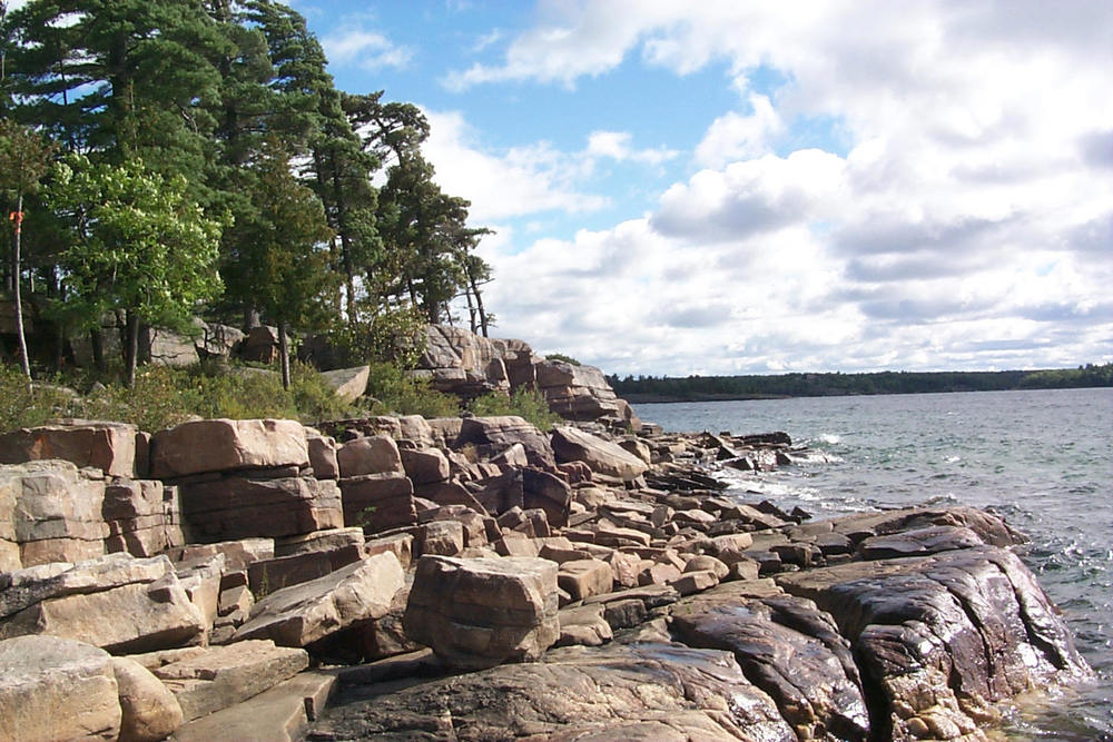 Shoreline Clamber