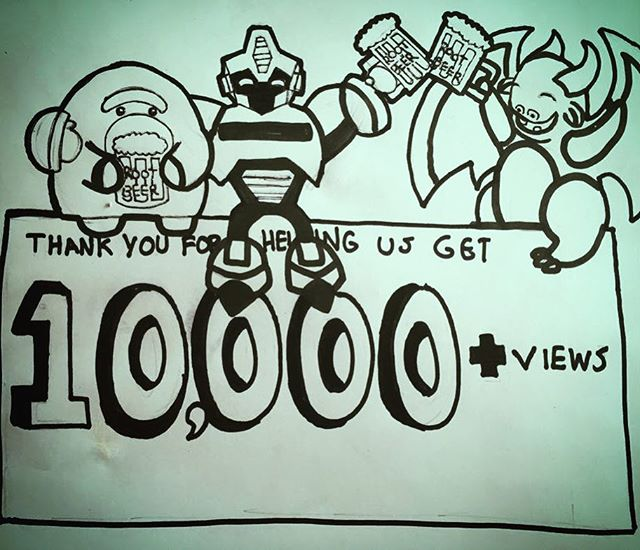 10,000 over the weekend, wow! Overwhelming fan response for our fan film, thank you!#FightClubCoC