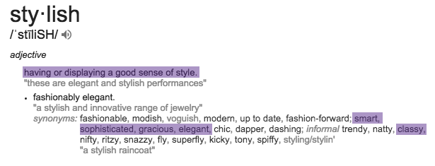 stylish define.png