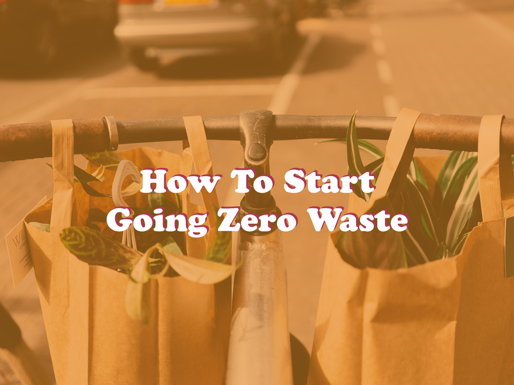 Have you been hearing about Zero Waste and possibly feeling overwhelmed about where to even start?? Look no further than this Simple Guide and learn How To Start Going Zero Waste today!