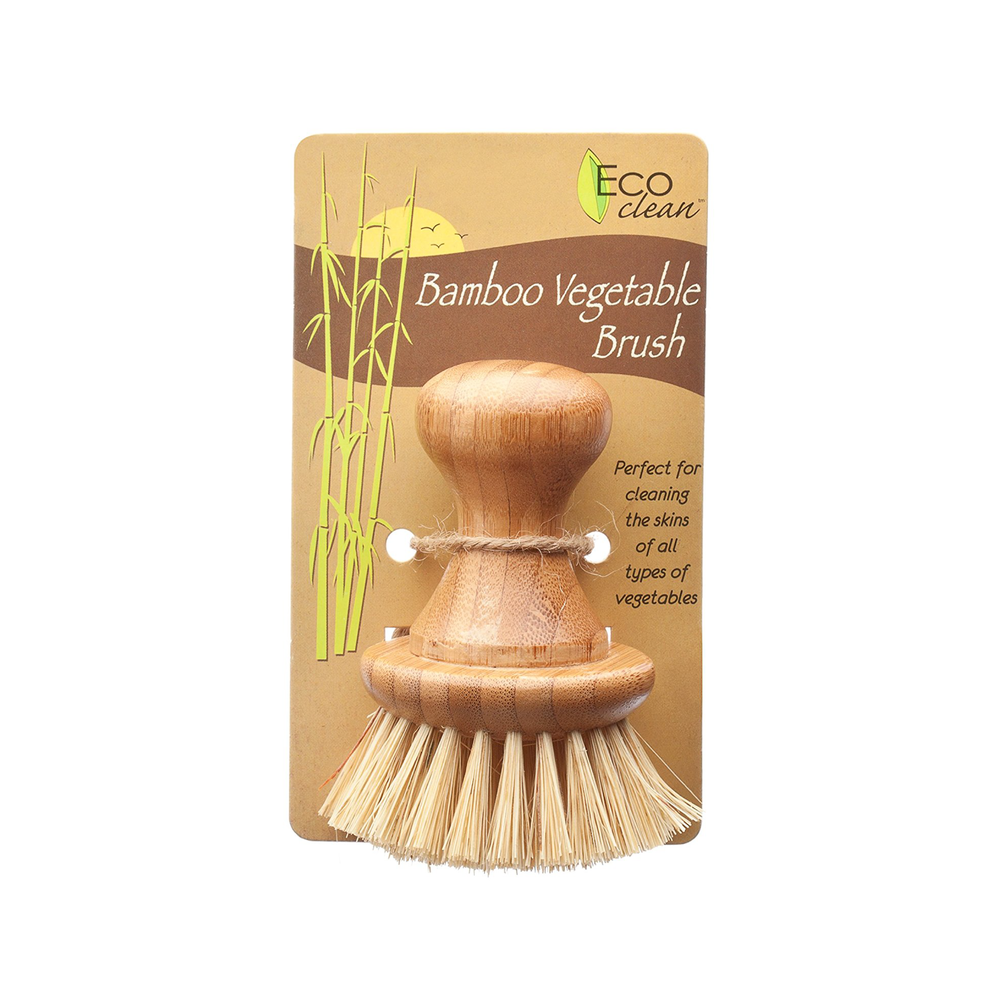 "I used to use this for dishes, but the short handle made it difficult. Now, I use these for scrubbing ""gross"" things like the inside of our compost pail or our turtles' tank. Once the bristles are no longer working, I can compost the whole thing!"