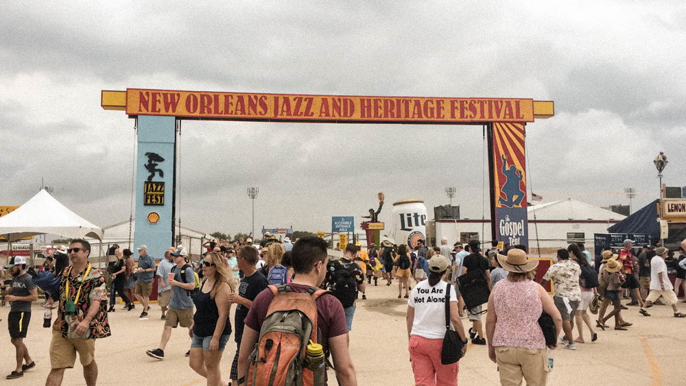 If you've ever held the belief that travel is expensive or solo travel is dangerous and scary - but have secretly wanted to do both - this post is for you!  My solo trip to New Orleans was the Abundant Result of flipping the script on those limiting beliefs! [Jazz Fest in New Orleans]
