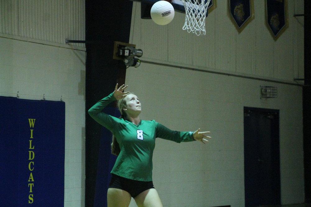 Varsity Girls Volleyball 8/29 Wright city