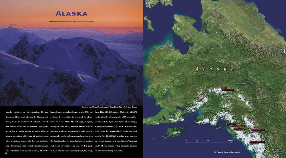 Download wallpaper high full HD » map of alaska mountain ranges ...