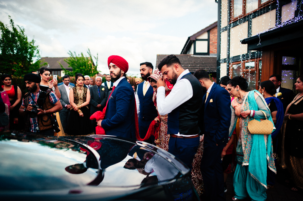 Sikh wedding in Birmingham- natural wedding photography