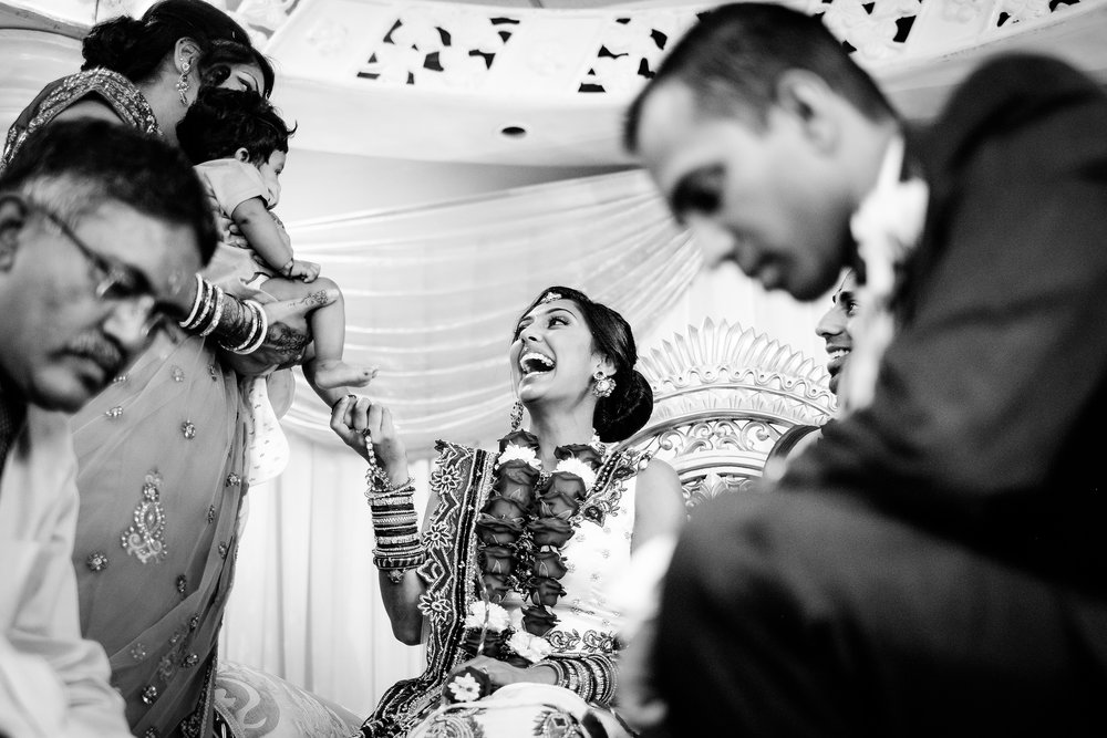 hindu wedding ceremony - documentary wedding photography