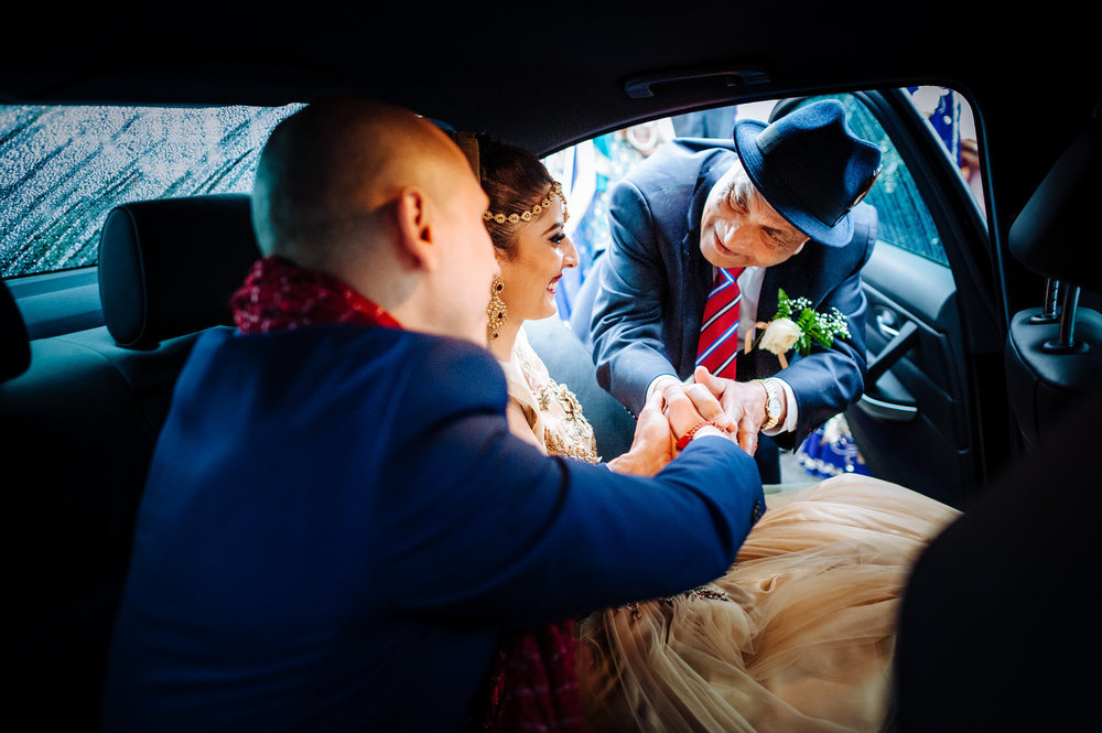 father of the bride - Hindu Wedding documentary photography