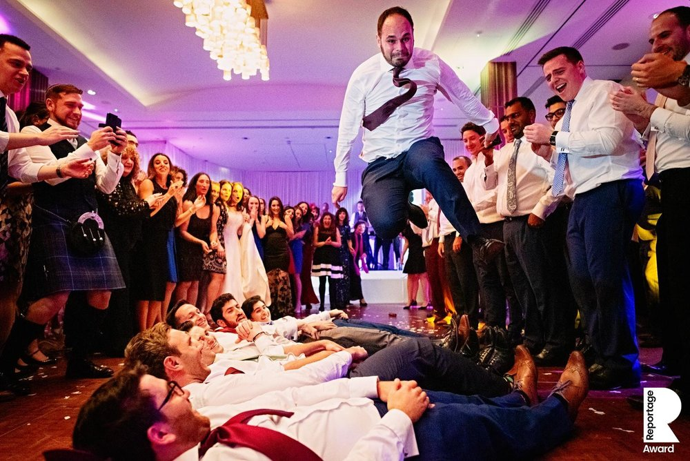 jewish wedding reception