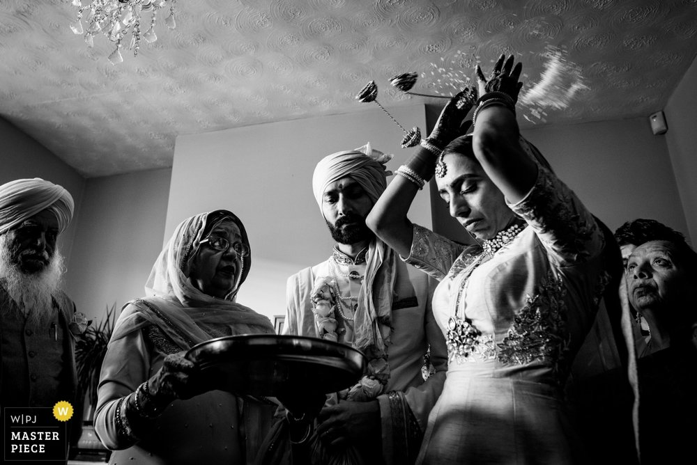sikh wedding - doli ceremony