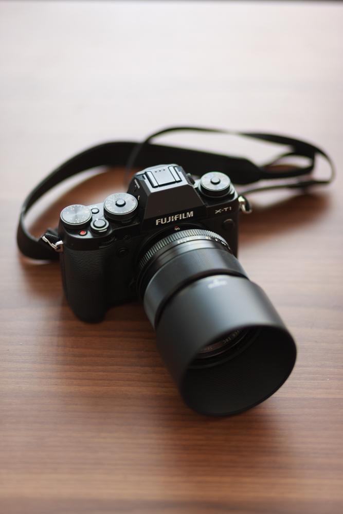 Fujifilm X-T1 med56mm f/1.2 objektivet.