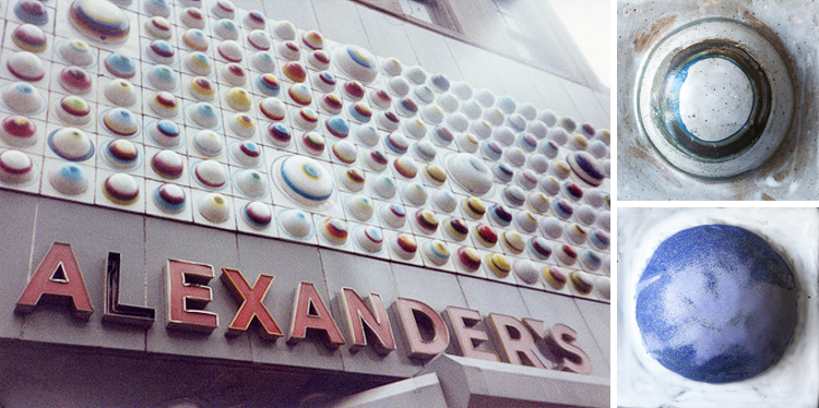 Alexander's Store c.1990 / TILES by Louise Eastman, 2015