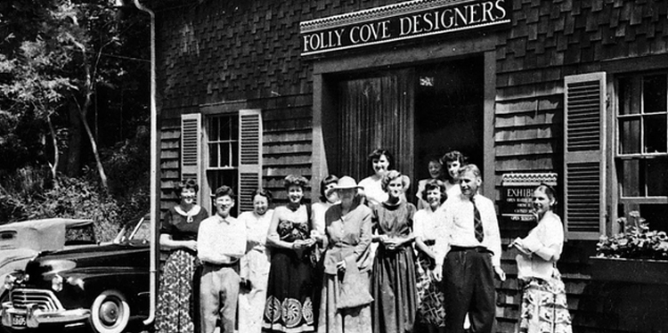 The original Folly Cove Designers, photo courtesy of The Cape Ann Museum.