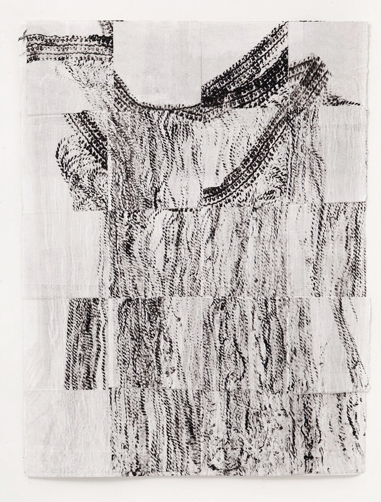 Untitled 1, Etching, 14 x 30 inches, 2018