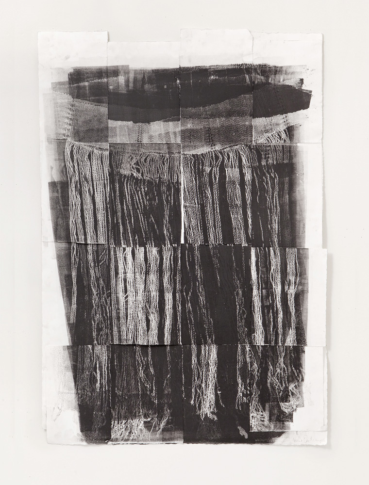 Untitled 3, Etching, 14 x 30 inches, 2018