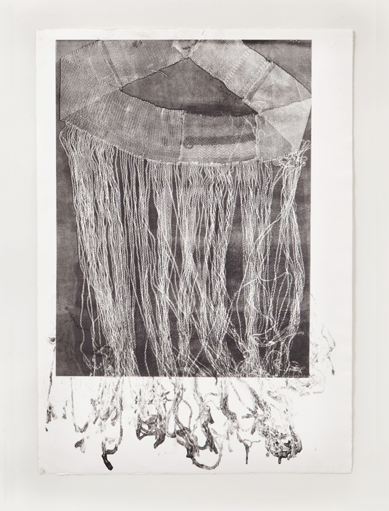 Untitled 7, Etching, 14 x 30 inches, 2018