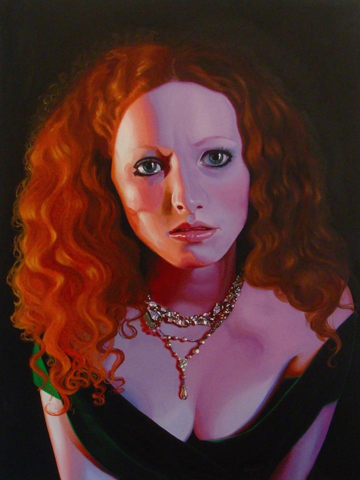"""Whitton  48"""" x 36"""", oil on canvas , 2014"""