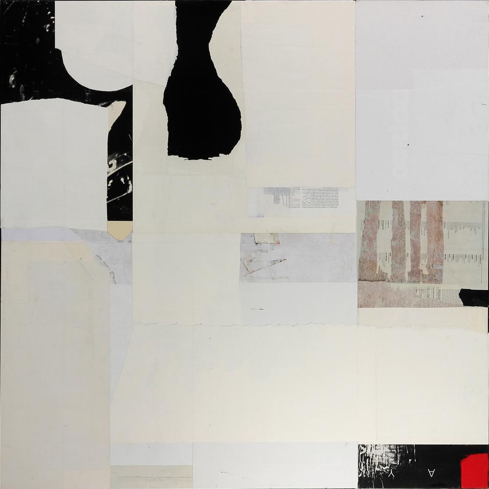 """Wabi-Sabi15  48"""" x 48"""", mixed media on canvas, 2015"""