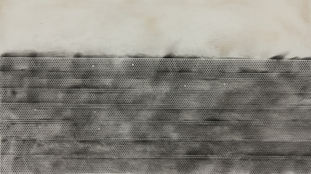 Substance,Light and Anticipation (Substance)  30'x 44', charcoal on paper,2014