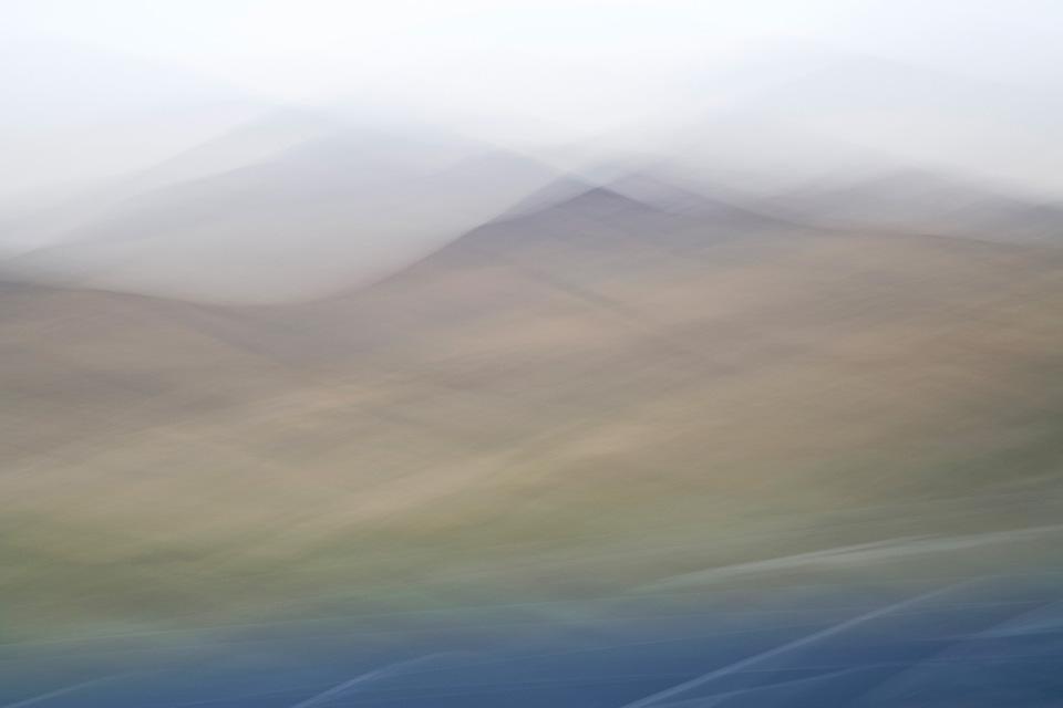 "Linger: Yreka 1  16"" x 24"" to 24"" x 36"", dye sublimation print on aluminum,2015"