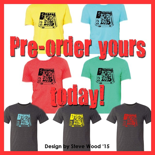 Steve Wood rocked the shirt design for ENDADA 2015. Pre-order yours today!