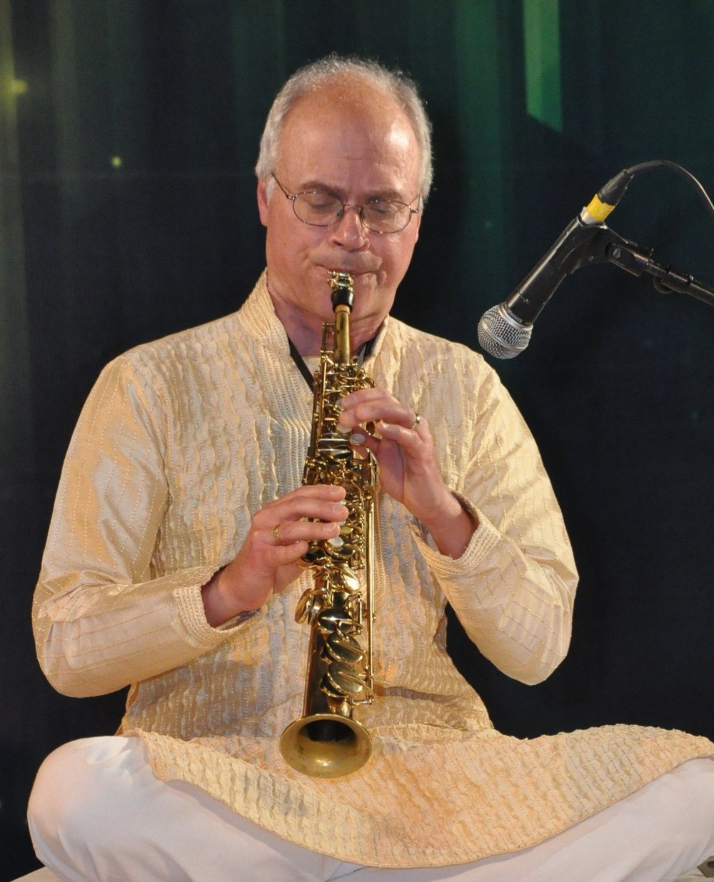 Indian - Jazz Celebration - Making Musical Magic in the Moment saxophonist Phil Scarff performs music of India along with local jazz band Cascade Jazz. Phil Scarff is a pioneer in the performance of North Indian classical music on soprano saxophone who exquisitely captures the music's subtlety and depth. As a master jazz saxophonist; he leads the acclaimed world-jazz ensembles Natraj and the Lewis Porter-Phil Scarff Group. He performs and records with creative jazz groups including Aardvark Jazz Orchestra, Jazz Composers Alliance Orchestra, and Filmprov.