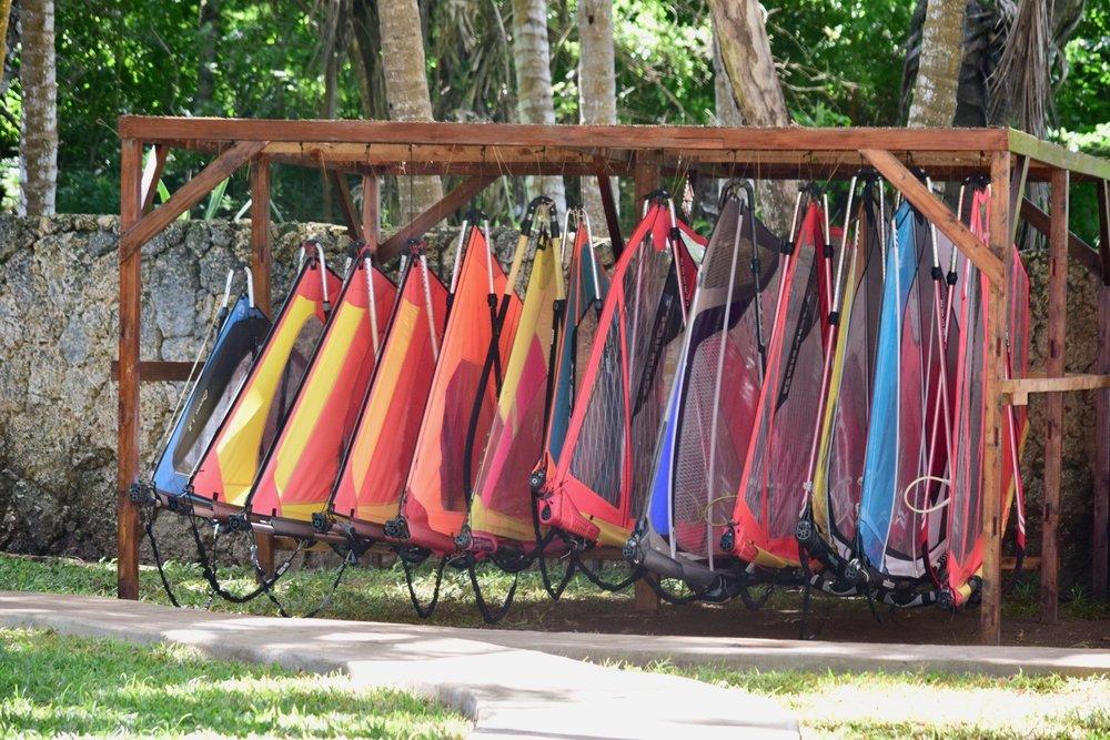 Windsurfing Sails at Almanara