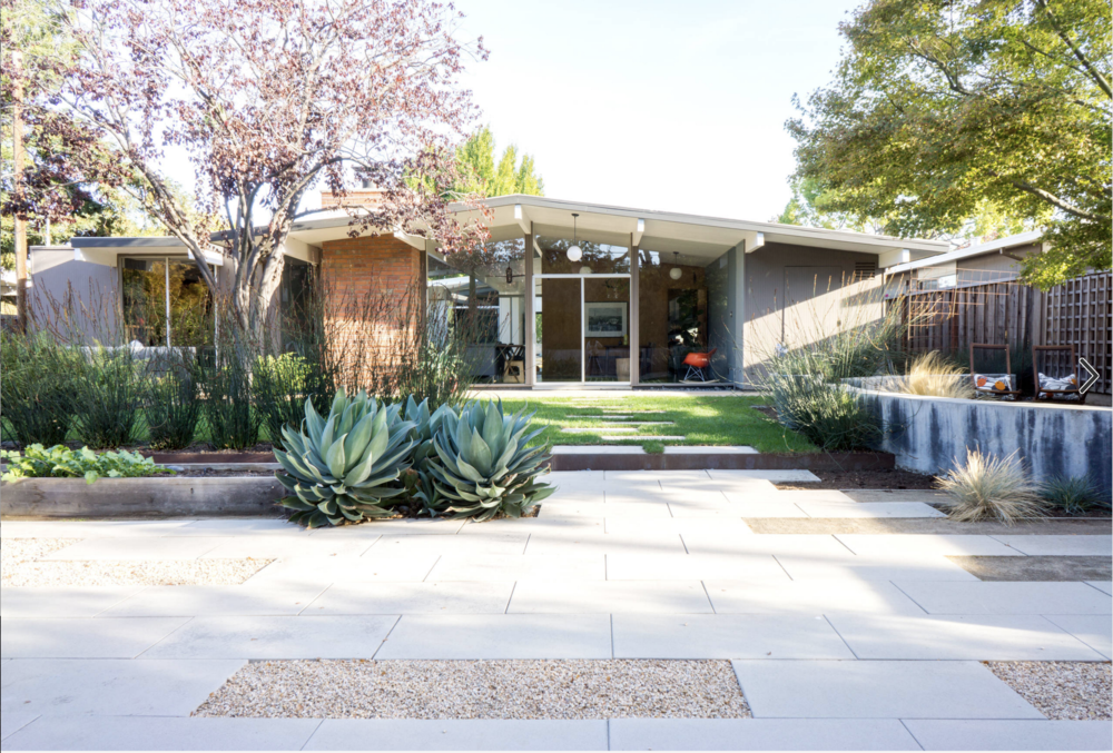 Houzz: An Edible Backyard in an Eichler Home