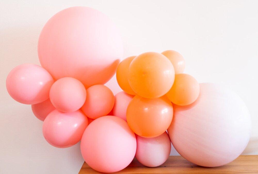 Small Balloon Garland Melody S Joy