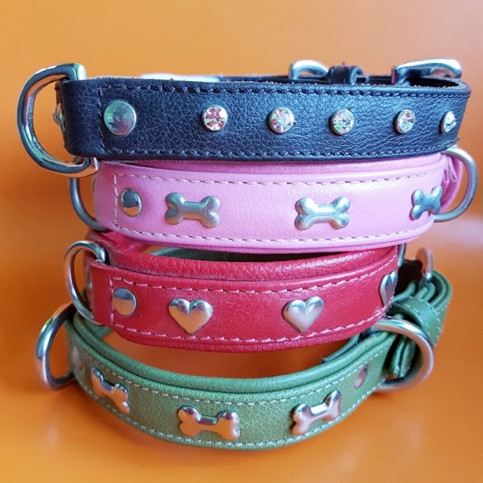 15% OFF ANGEL PET SUPPLIES COLLARS & LEASHES   Angel Pet Supplies manufactures fine leather pet apparel, including innovative designs of collars, harnesses and leashes. Each unique design is hand designed, hand- made, and using only the finest raw materials.