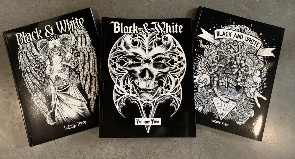 Black & White: Volumes 2, 3, and 4